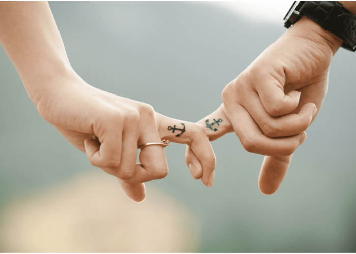 Tatuaggi per fidanzati: le ancore