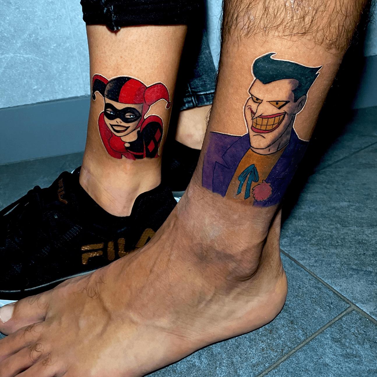 Tatuaggi per fidanzati: Harley Queen