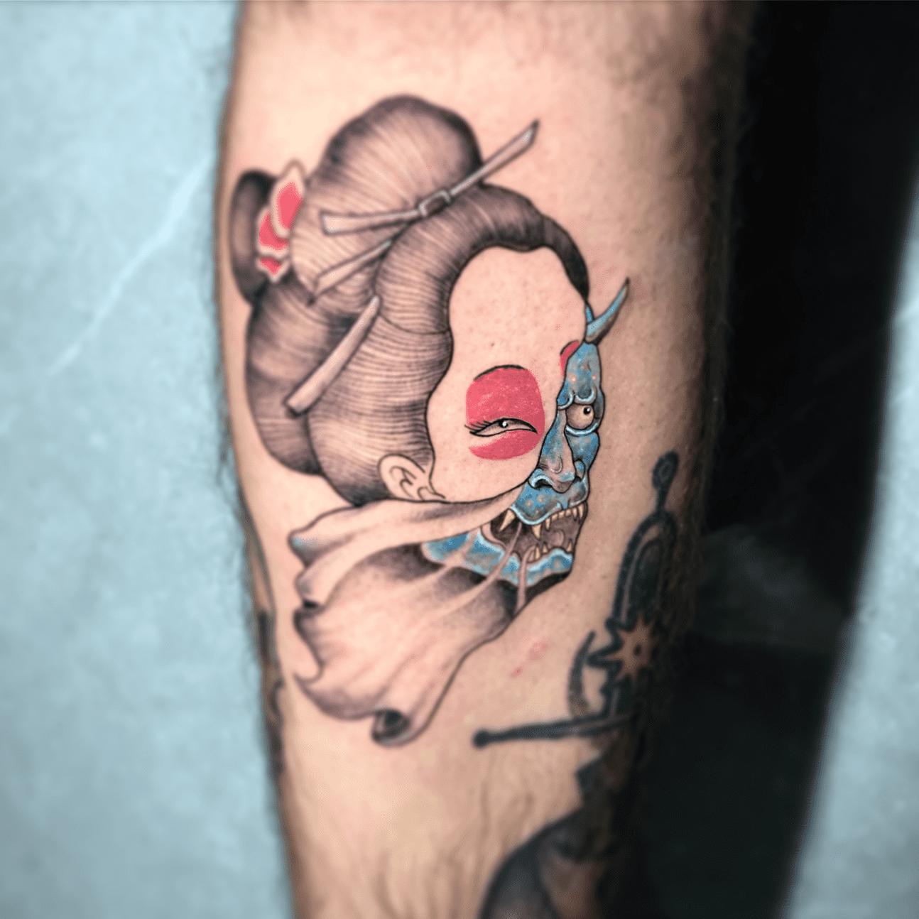 Tattoo giapponesi: la storia di hannya
