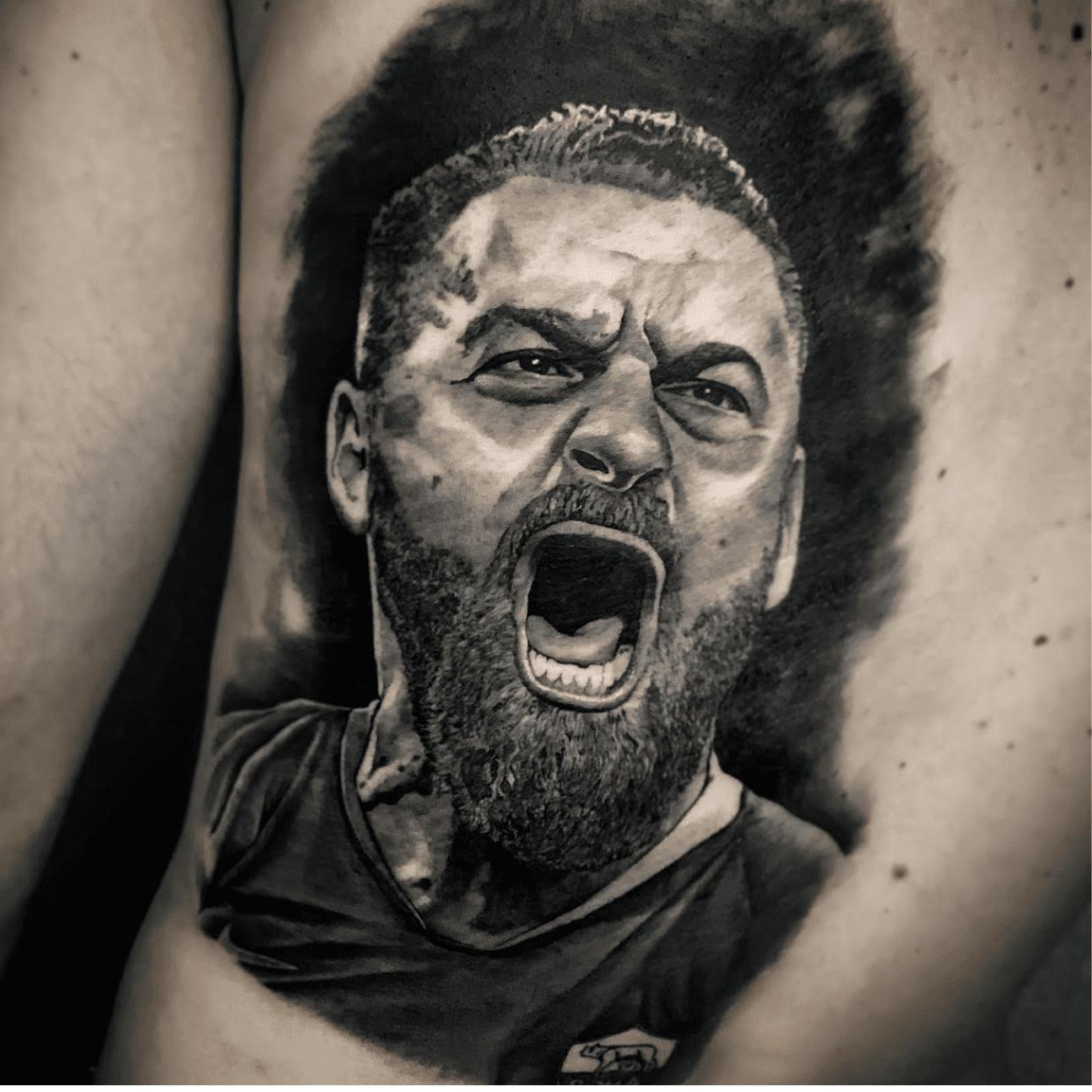 Tatuaggi realistici a Roma: Daniele de Rossi