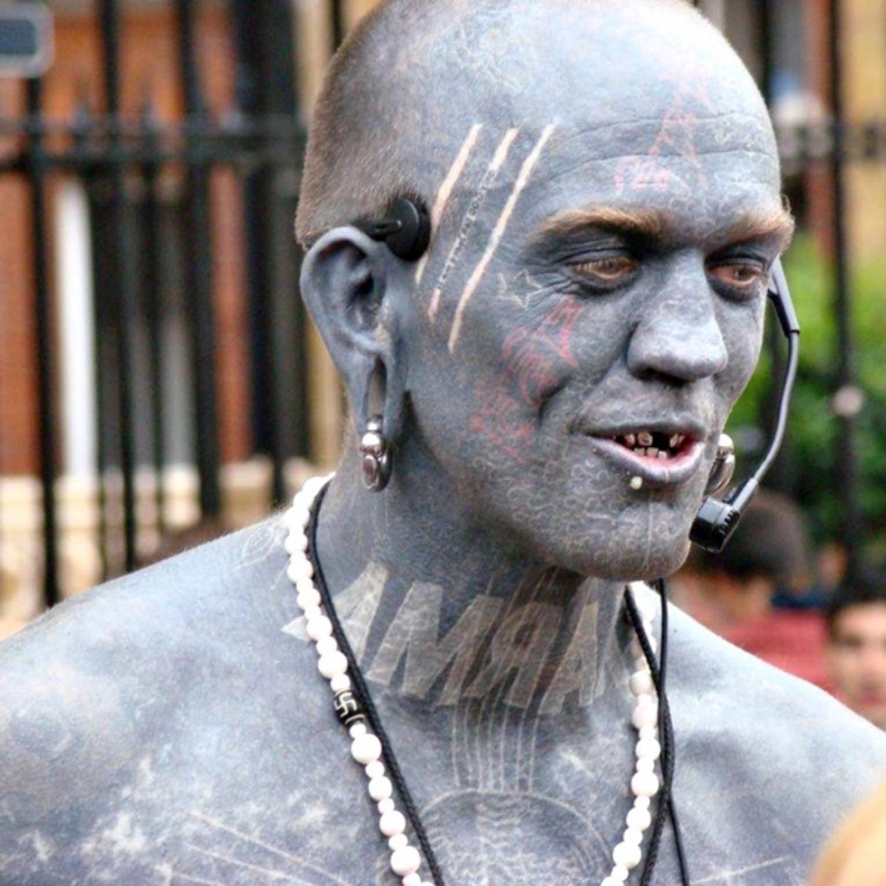 gregory paul mclaren : l'uomo più tatuato del mondo